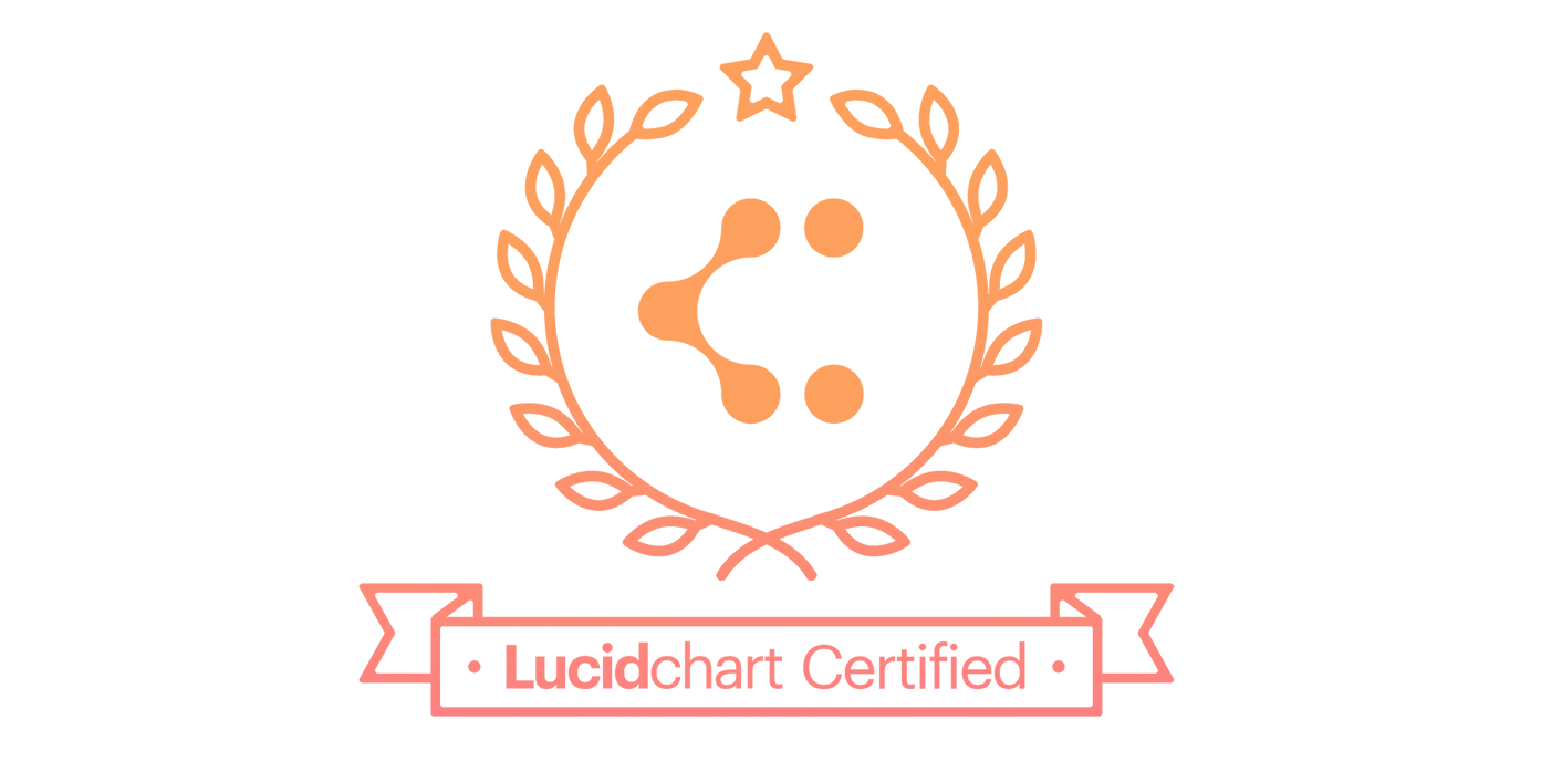 Lucidchart Certified Badge